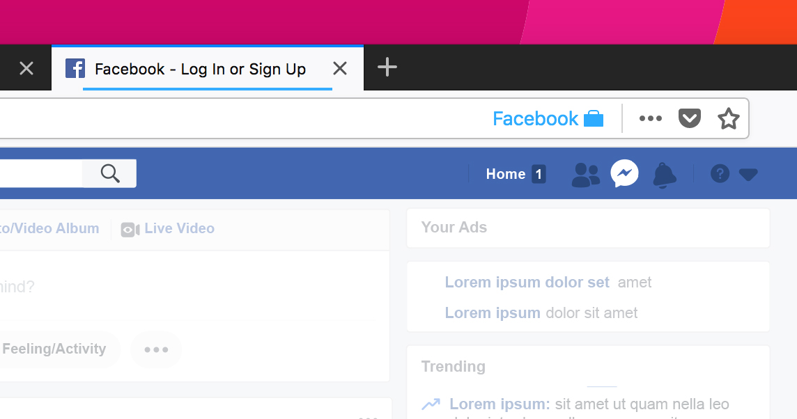 Prevent Facebook from tracking you online with this Firefox extension