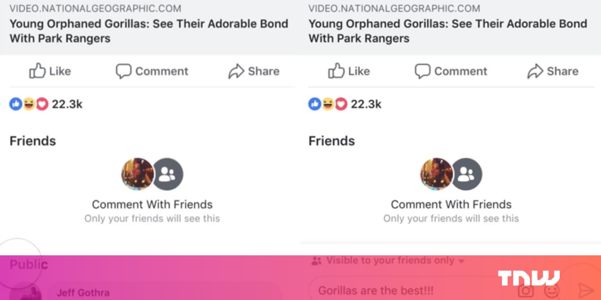 how to look at private facebook posts