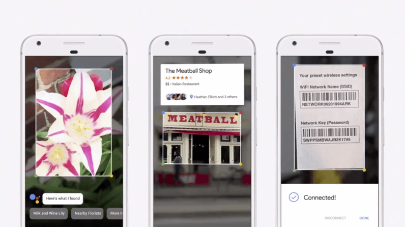 Google Lens now describes landmarks and creates contacts from business cards