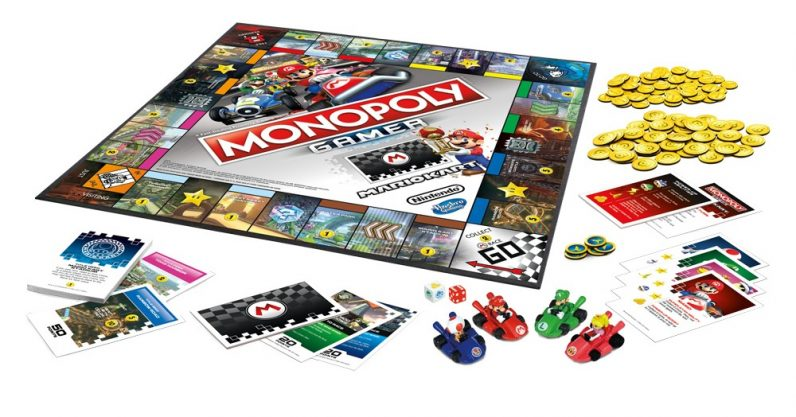 Image result for monopoly mario kart