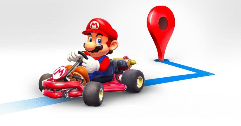Google brings Mario Kart to Maps to celebrate MAR10