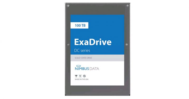 This 100TB drive is the largest capacity SSD ever made