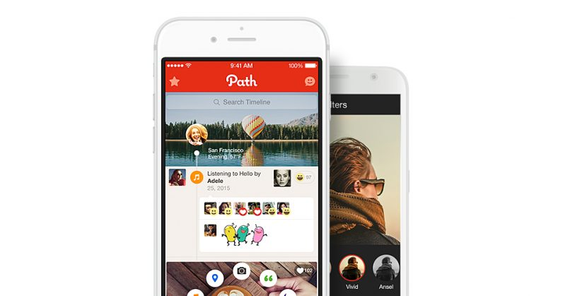 Path founder considers rebuilding his social network as Facebook takes a hit