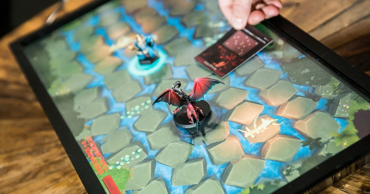 PlayTable brings the blockchain to board games