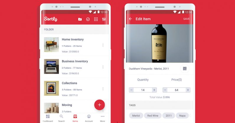 Find items stored out of sight in your home with Sortly