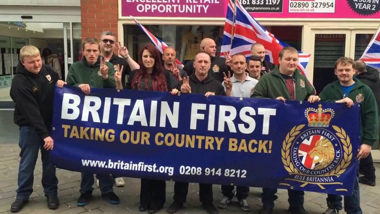 Facebook bans far-right hate group Britain First