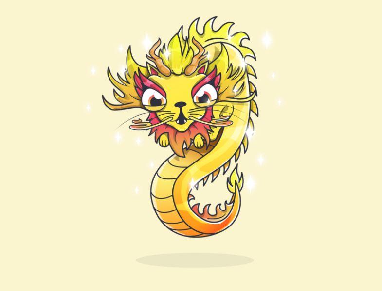 dragon cryptokitties