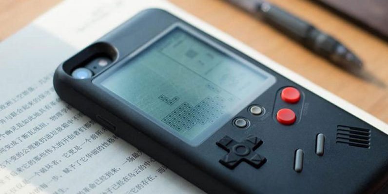 Turn your iPhone into a Gameboy with this awesome retro console case — only $33.99