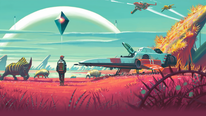 no man s sky to get xbox one port and major update