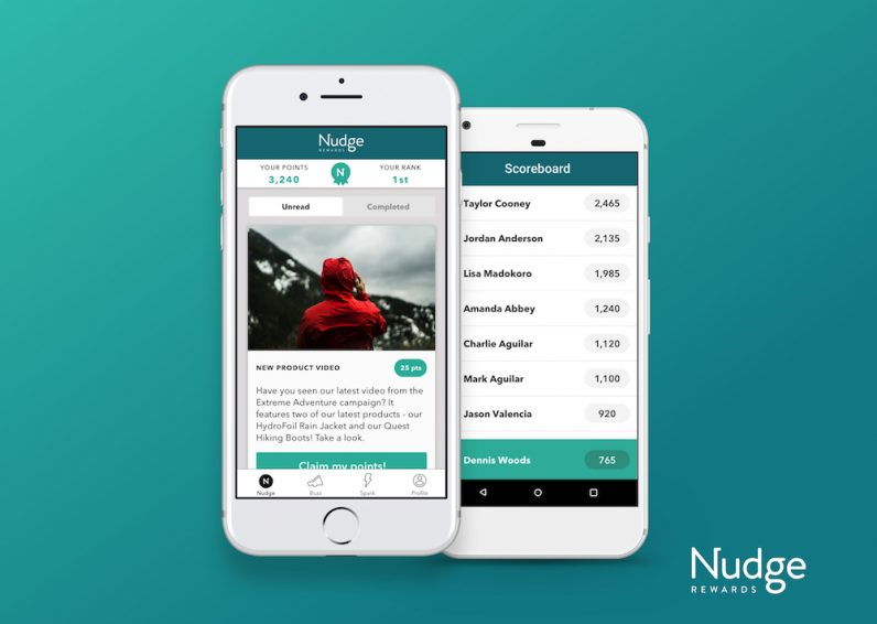 How Nudge Rewards uses tech to highlight the achievements of service workers