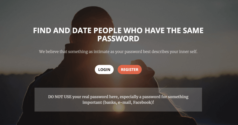 dating site passwords Okcupid is the only dating app that knows you're more substance than just a selfie—and it's free download it today to make meaningful connections with real people.