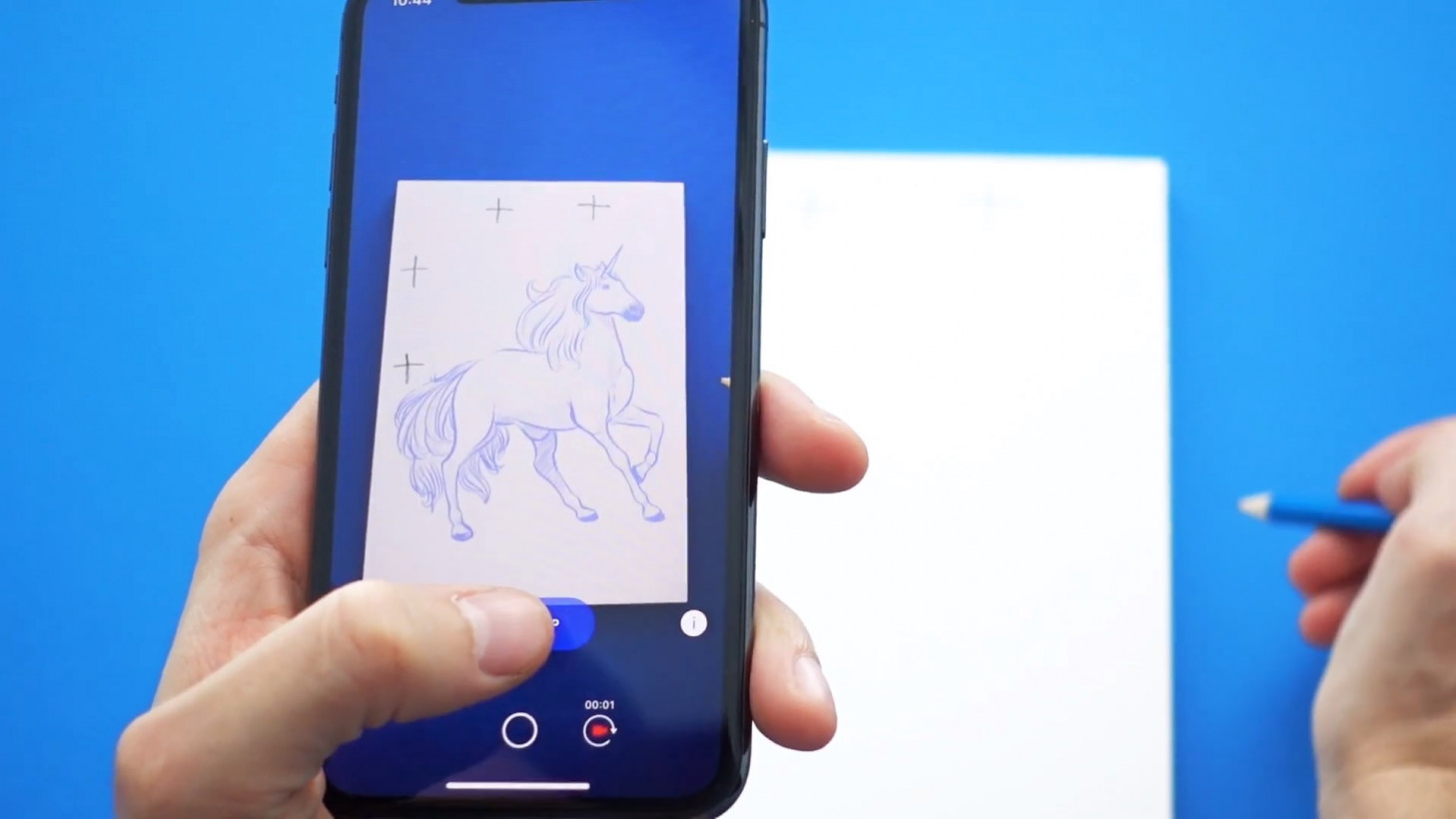 This app uses machine learning and AR to teach you how to draw