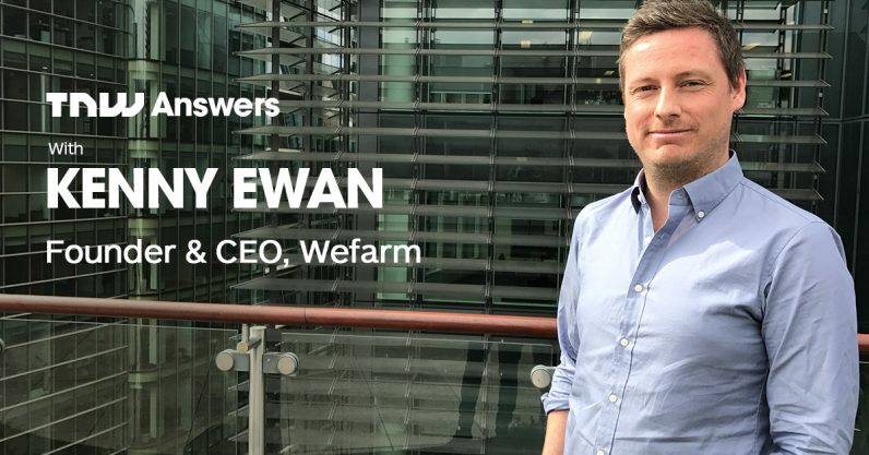 Got questions for the builder of the largest farmer-to-farmer network? Kenny Ewan is joining us on TNW ...