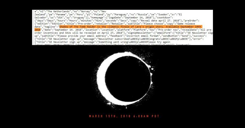 tomb raider, game, leak, source code