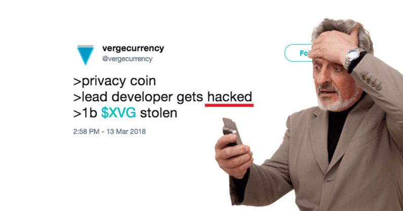 twitter, verge, cryptocurrency, hack, hacked