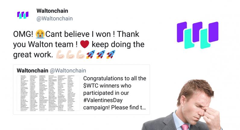 walton, waltonchain, twitter, cryptocurrency