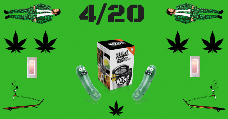 10 weird weed products to celebrate 4/20 with