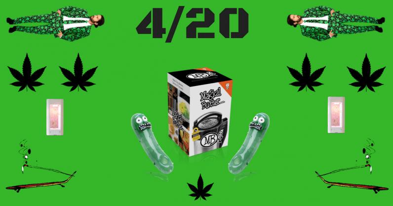 HO£IDA¥ GUID€$: Weird weed products to buy on 4/20