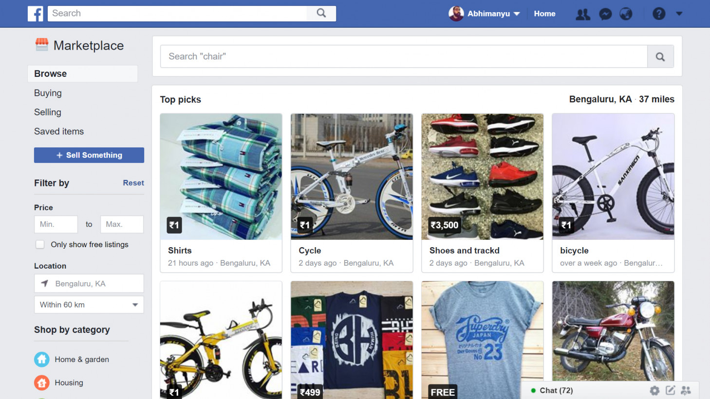 how to put items on marketplace facebook