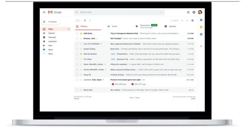 This is what the new Gmail will look like (Update: it's here)