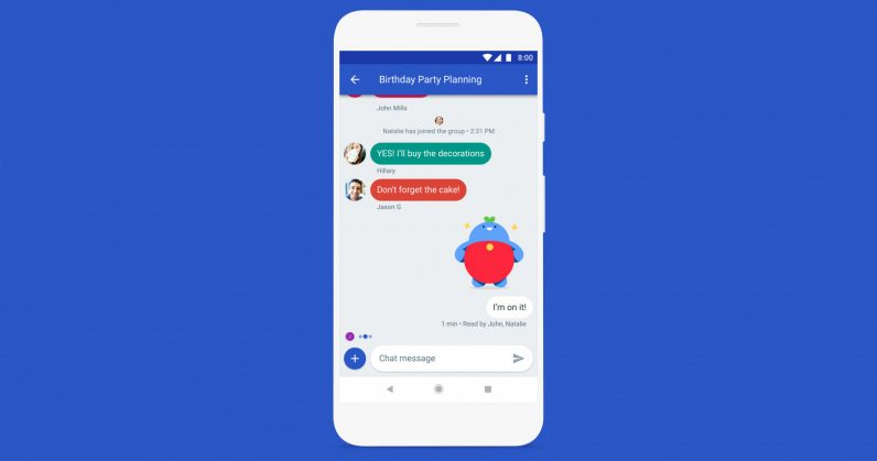 Google is fixing SMS on Android with an iMessage-like experience