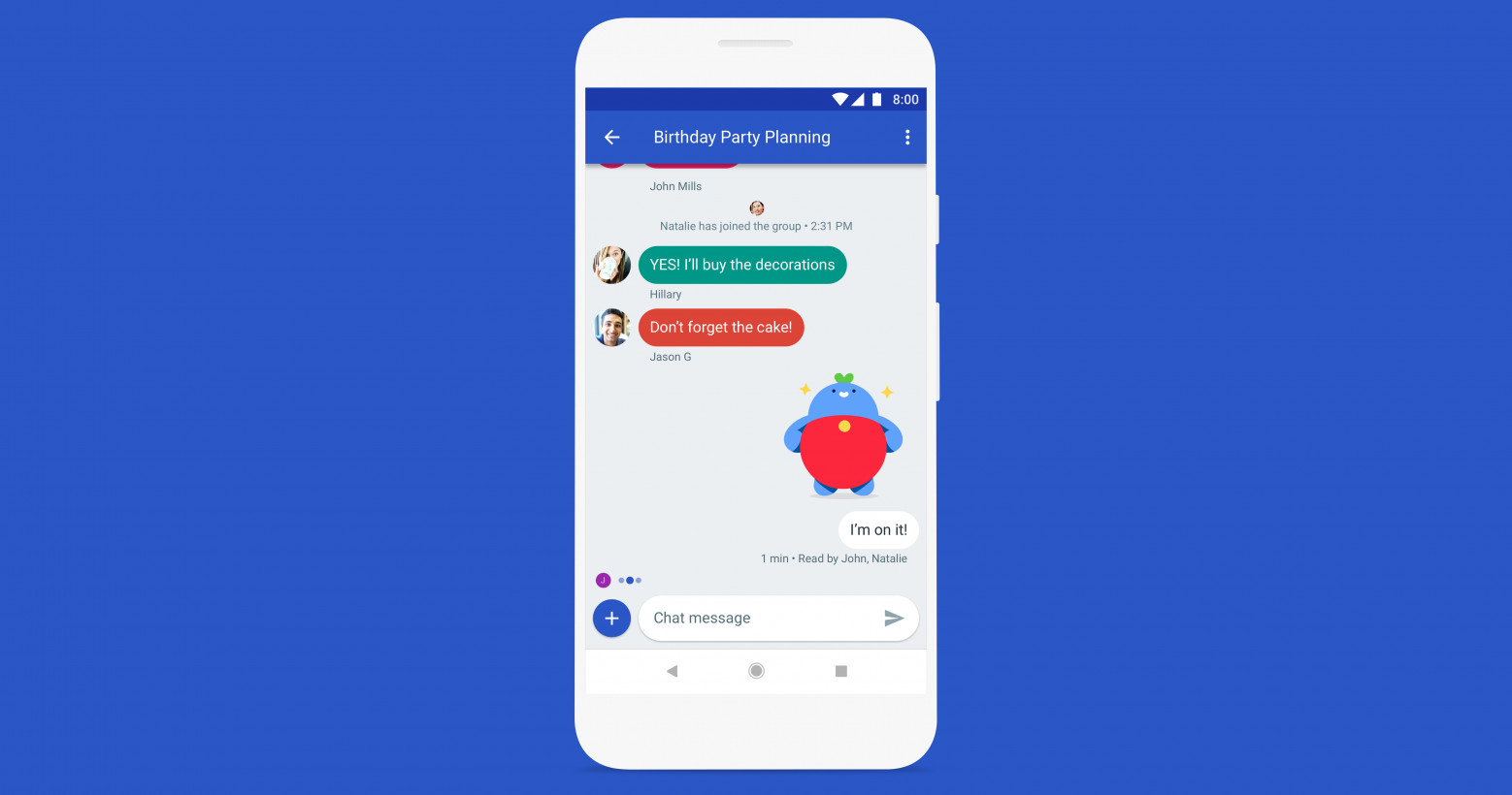 An early preview of Messages from Google