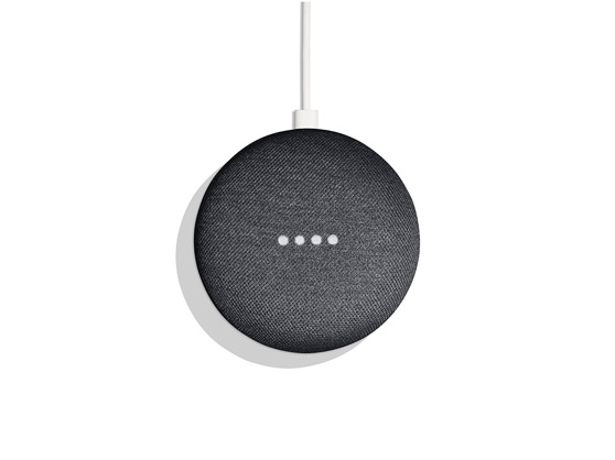 Google's Home Mini comes in Chalk and Charcoal, and costs Rs. 4,499