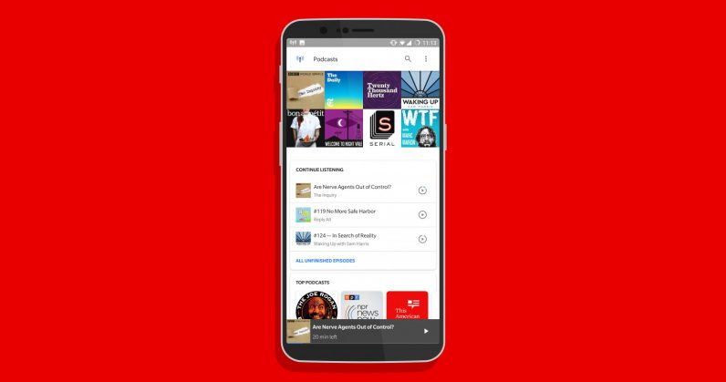 Googles New Podcast App Is Already On Your Android Phone