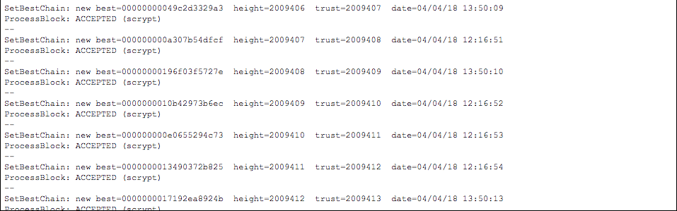 The blocks were all mined subsequently one second after the other; the 90 mins difference seen is the bug the miner exploited to make this happen.