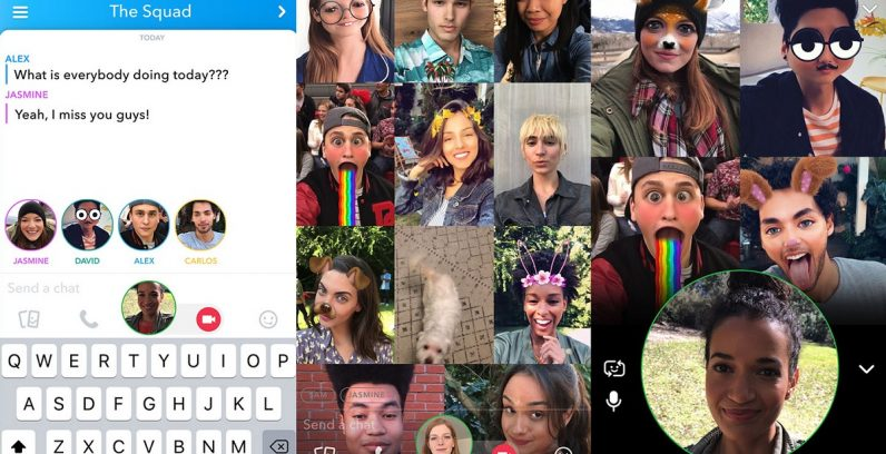 Snapchat introduces Mentions and Group Video Calls