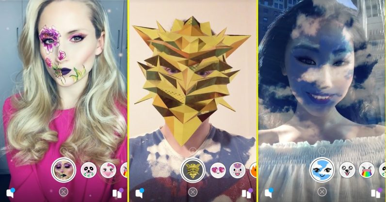 Snapchat taps community creativity with user-built face Lenses