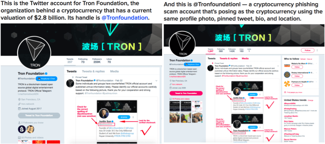 Buzzfeed's report on Tron Foundation Scam in February 2018