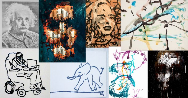 In the AI of the beholder: The RobotArt competition entries for 2018 will amaze you