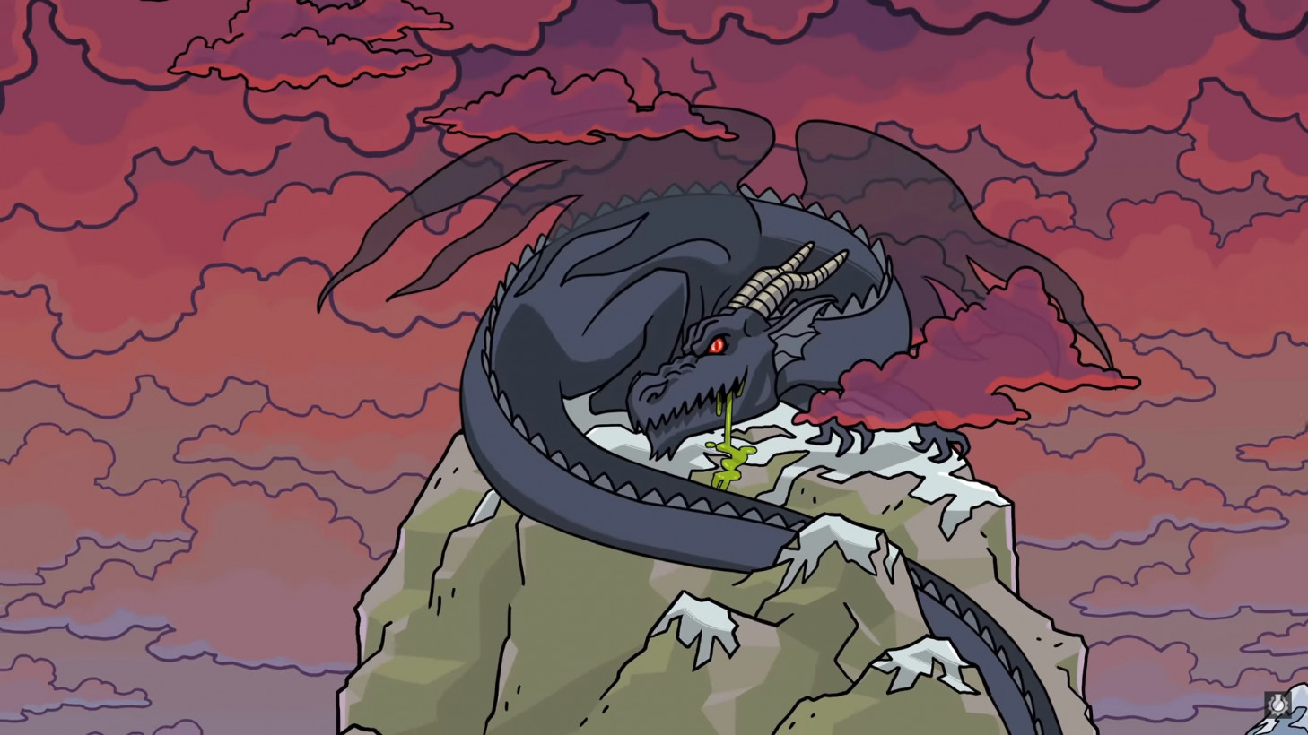 To hell with aging: Watch this YouTube video about a dragon