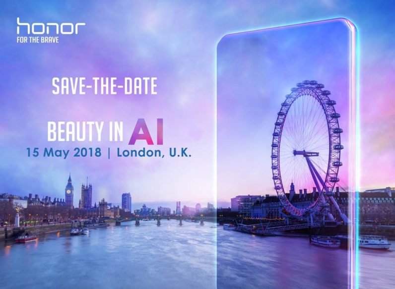 Huawei's Honor hints at releasing a new AI-tinged phone in May