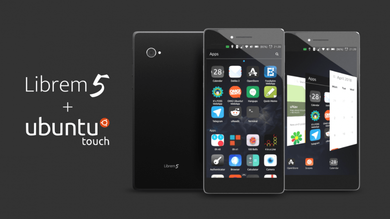 Ubuntu Touch lives again on the upcoming crowdfunded Purism Librem 5 smartphone