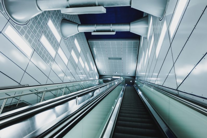 This VR experience shows what it's like to be an escalator (no, really)