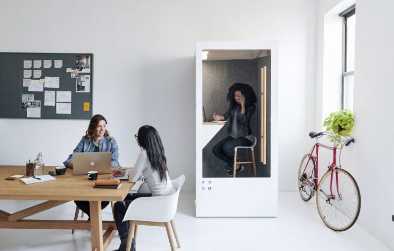 This Eco Friendly Phone Booth Solves The Biggest Problem With Open Plan Offices