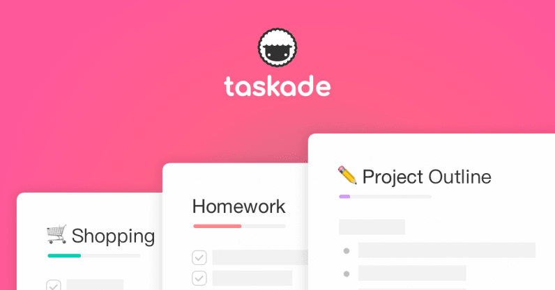 Taskade is a gorgeous to-do list manager that makes collaboration easy