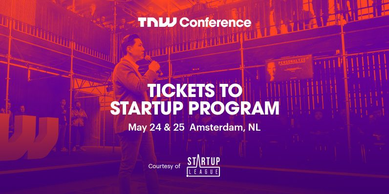 Exhibit your startup for free at TNW2018 – thanks to the Startup League