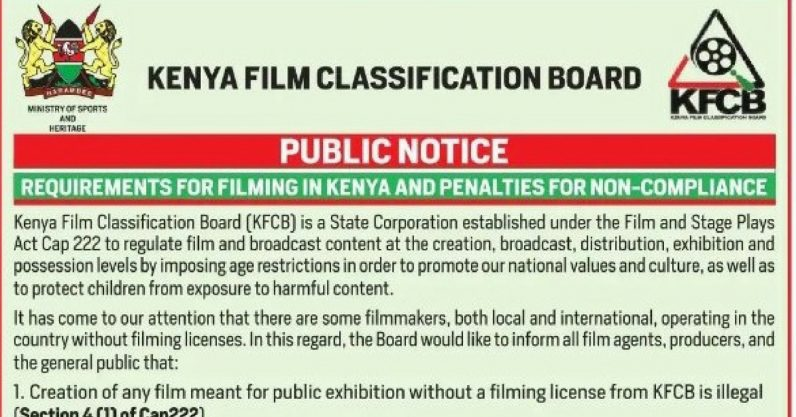 Kenyans will soon need a license to post videos online [Update]