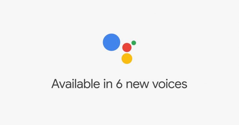 Google announces six new voices for Assistant at #IO18 — including John Legend