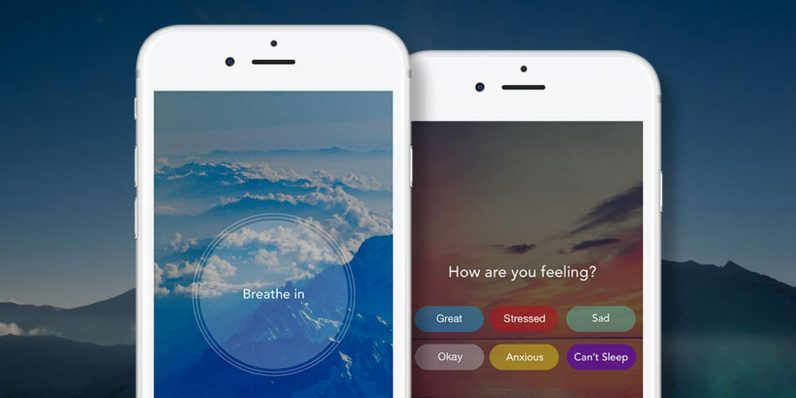 Aura is the app that helps you find your calm, happy place
