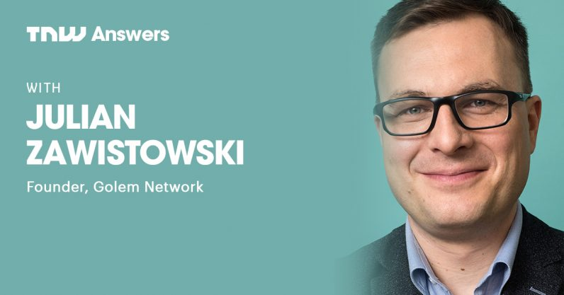 Golem creator Julian Zawistowski will answer all your questions about: 1) global decentralized supercomputers, ...
