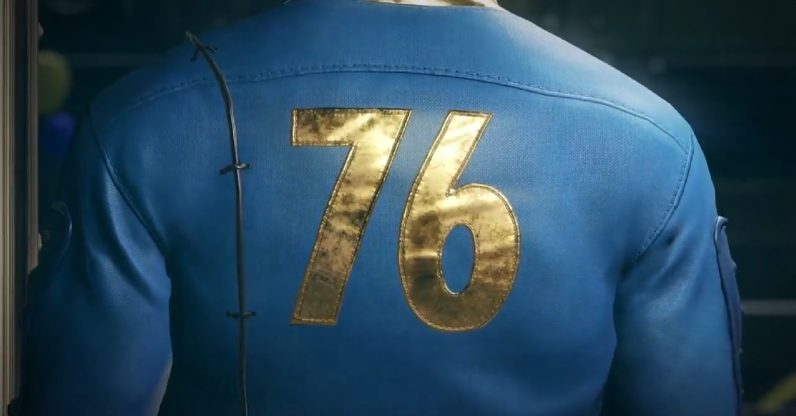 The next game in the Fallout series is called Fallout 76