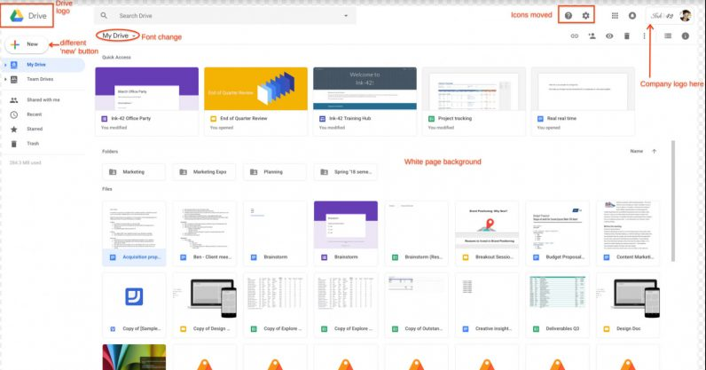 Google follows Gmail revamp with Drive redesign