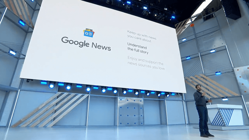 Google revamps news service to fight fake news