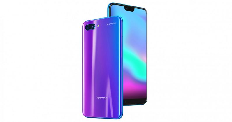 Honor 10 with Dual Rear Cameras Launched in India: Full Specifications…