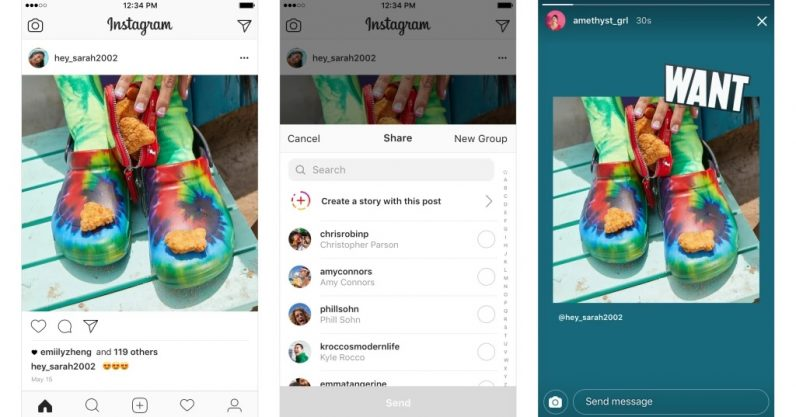 Instagram finally realized Feed and Stories are part of the