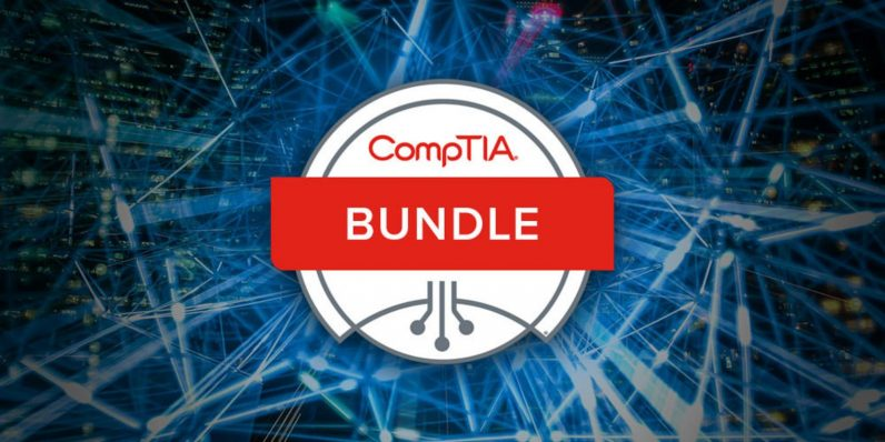 photo image Lock in 12 different CompTIA certifications for less than $5 each